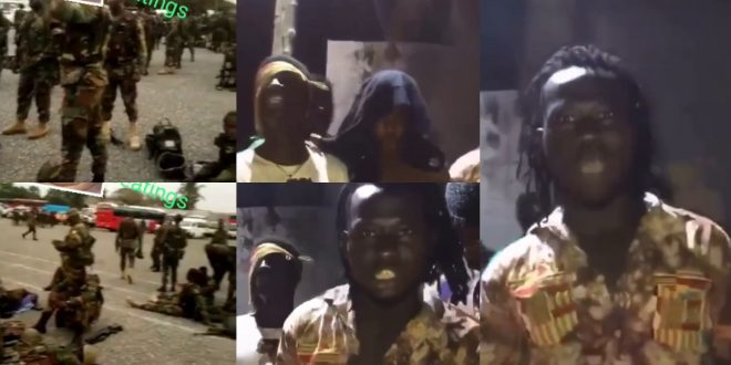 Kumasi Asafo Boys threatens to match the military Boot for Boot and that they are not afraid (video) 1