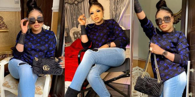 Bobrisky Steps Out To See His Bae In His Office - Photos 1