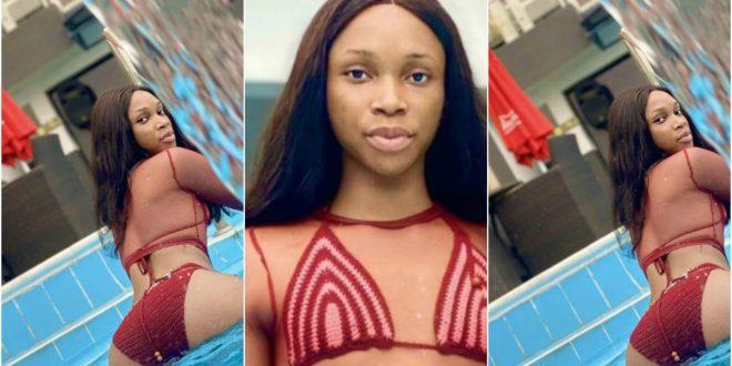Crossdresser, Jay Boogie, Flaunts His Curvy Body In A Hot Bikini Photos - Check Out 1