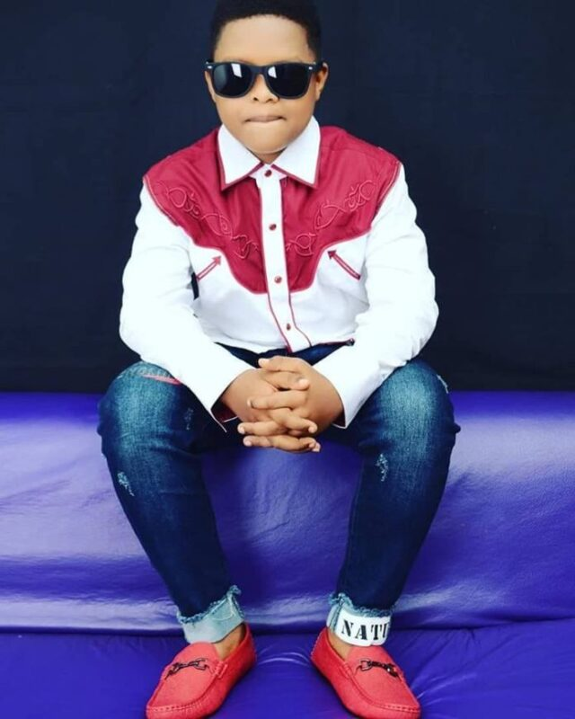7 unseen pictures of kwaw kesse's son Sean (photos) 4