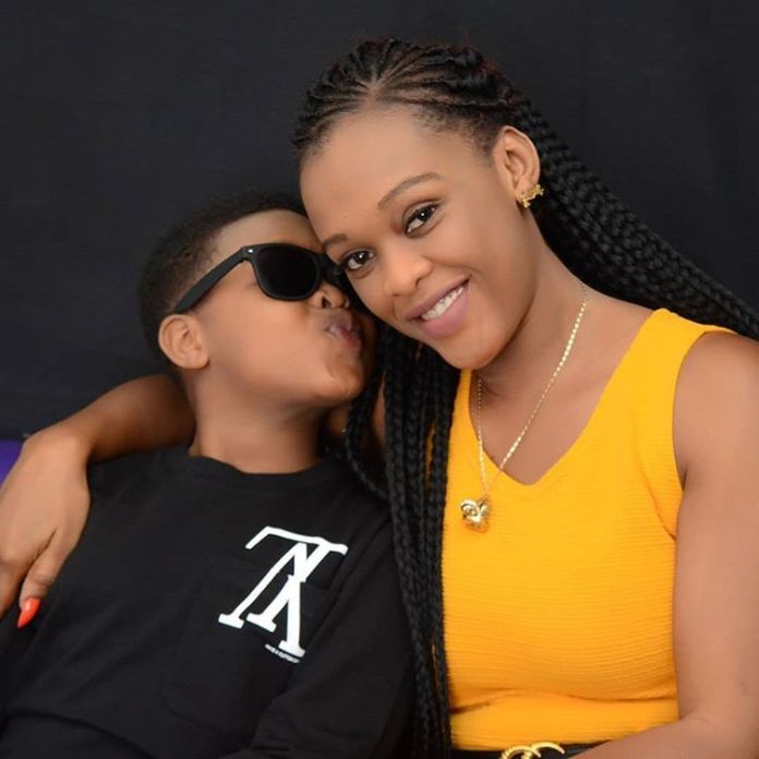 7 unseen pictures of kwaw kesse's son Sean (photos) 6