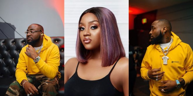 """""""I want to have 2 more kids with Davido""""- Chioma reacts to Davido getting a new girlfriend 1"""