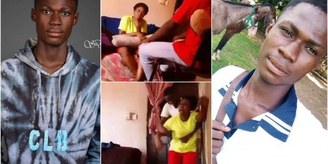 Photos Of Junior The Suspected Guy Who Mercilessly Beat Up His Girlfriend Pops Up - Check Out 1