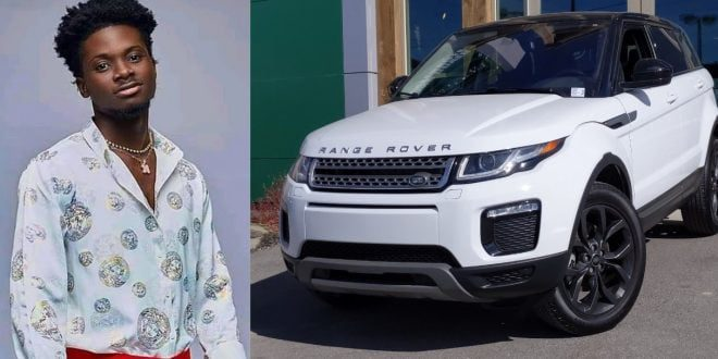 Kuami Eugene acquires a Brand new Range Rover (video) 1