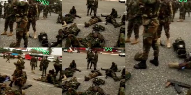 Military men lands in Kumasi and Accra to enforce Monday's lockdown (video) 1
