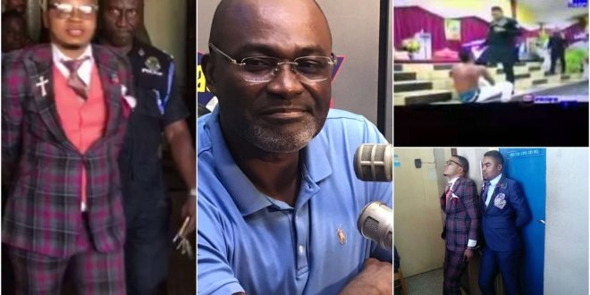 Kennedy Agyapong vows to make police arrest Obinim for beating teenager mercilessly (video) 1