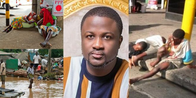 Pastor Brian to provide food water and rooms for the homeless during 14 days lock down of Accra. 1