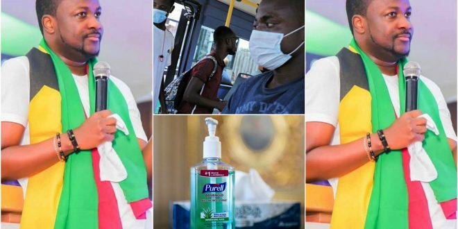 """""""Churches and pastors are not supposed to provide hand sanitizers and mask to members""""- Pastor Brian (video) 1"""