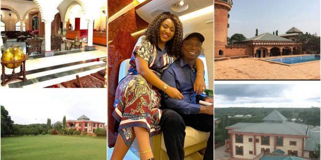 Photos Of Regina Daniels Husband 10 Billion Naira Mansion Pops Up - Check Out 1