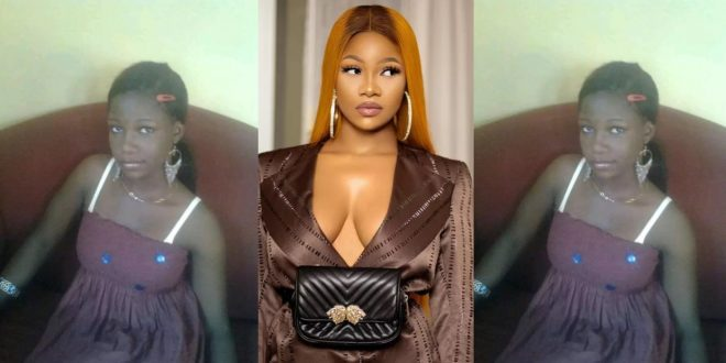 Throwback Photos reveal how much Tacha has bleached her skin. (photos) 1