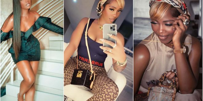 Tiwa Savage Set The Internet Ablaze As She Shakes Her 'Bumbum' In Live Video 1