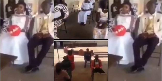 Surprising! Couples Tie The Knot With 7 People Amidst Coronavirus - Video 1