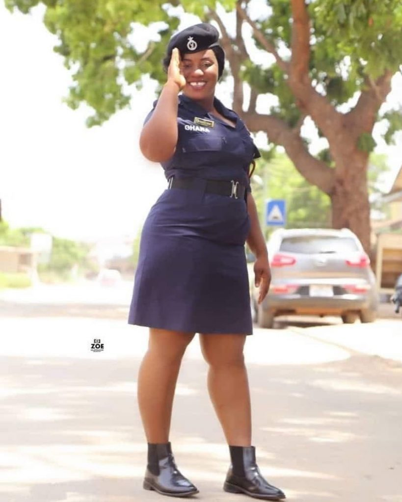 Photos of Francisca Tengey, the pretty Ghanaian Policewoman shot by a soldier in Tema (photos) 2