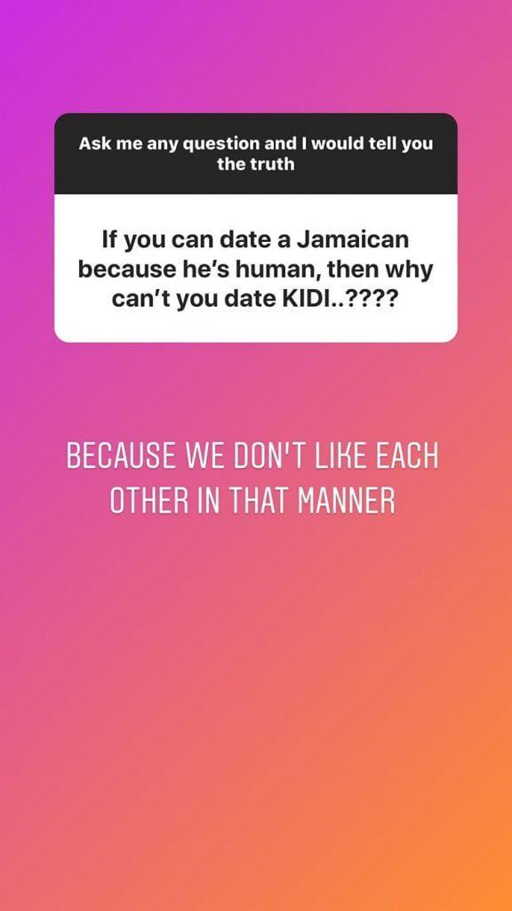 'I Can't Date Kidi Because We Don't Like Each Other' - Salma Mumin Disclosed (Screenshot) 3