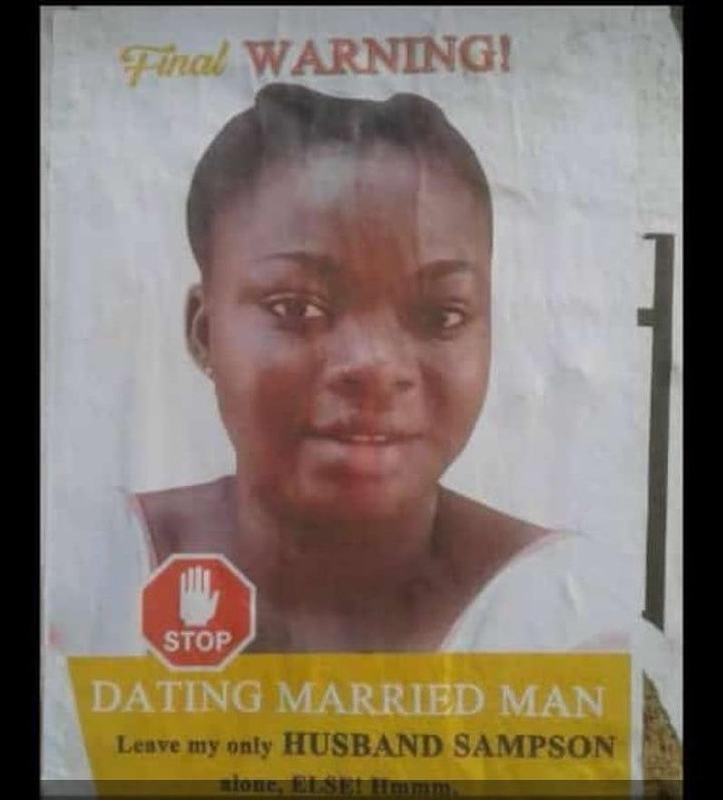 wife warns side chick