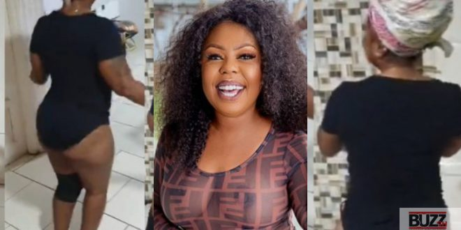Afia schwarzenegger drops tw3rking video to celebrate Akuffo Addo lifting lockdown (video) 1