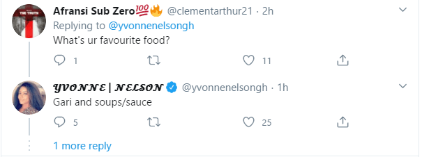 Yvonne's tweet