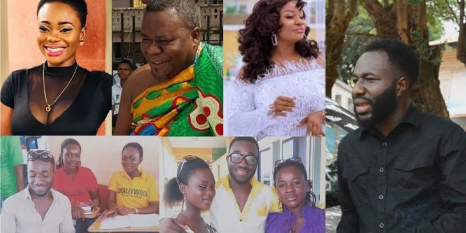 Brother of Akua GMB Speaks on Divorce with Husband and her relationship with Afia Schwarzenegger (Video) 1