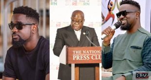 Sarkodie begs Akuffo Addo to open Ghana's borders so he can come home. 16
