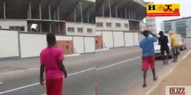 Children In Accra Defies Lockdown Order: Begs For Money On The Street - Video 1