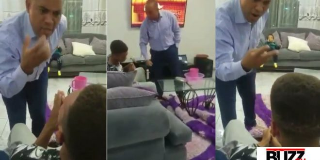 Boy Who Got Distinction in Music but failed Other Subjects Receives Dirty Slaps From His Father After Paying 21k USD School Fees - Video 1