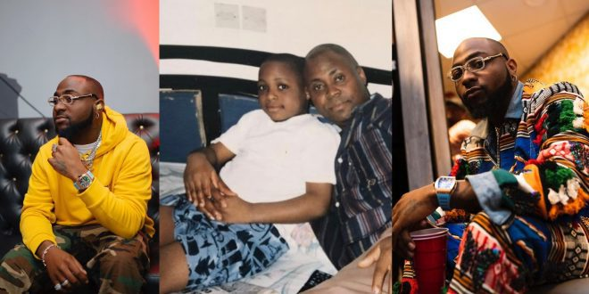 Throwback photo of Davido Looking So Innocent Causes Stir On The Media - Check Out 1