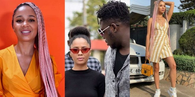 """""""Tell my ex to keep my name out of her mouth""""- Medikal sends strong warning to Derby. 1"""