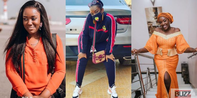 Stonebwoy's wife swags up in Bhim Merchandise (photo) 1
