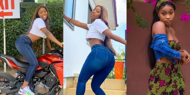 Efia Odo advises Ghanaians to work hard rather than sit home and pray. 1