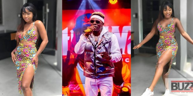 Shatta Wale Couldn't Control Himself After Seeing Efia Odo's P@nties - See His Reactions 1