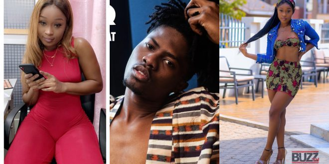 Kwesi Arthur's voice heard in a room in which Efia Odo was laying half-naked (video) 1
