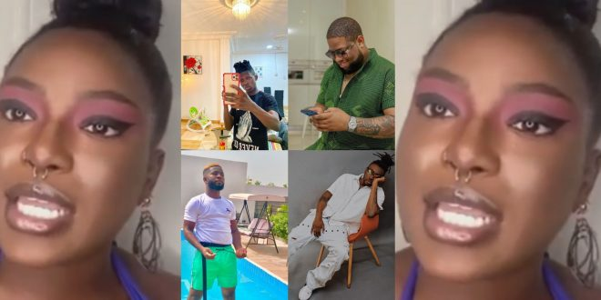 Instagram Slay Queen Exposes DBlack, Bisa Kdei, Pappy Kojo, Strongman And Others For Trying To Hook Her Up - Video 1