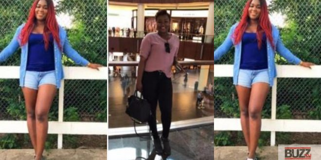 Slay queen disgraced by the wife of sugar daddy on social media (photos) 1