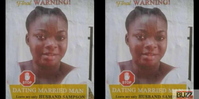 Angry Wife Warns Side Chick By Making A Funeral Poster Of Her - Photo 1