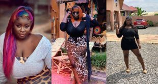Believe it or not, Actress Maame Serwaa will be the First Female President of Ghana - Prophet shockingly reveals 21