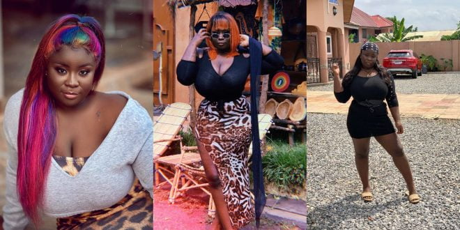 Maame Serwaa flaunts All Her massive Assets in new video 1