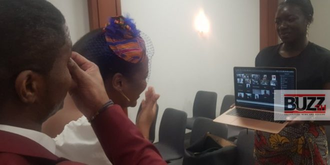 Coronavirus Lockdown: Couple Holds Wedding On Zoom App Whilst Family And Friends Joins And Watch Online - Photos 1