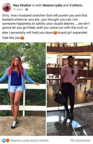 Slay queen disgraced by the wife of sugar daddy on social media (photos) 2