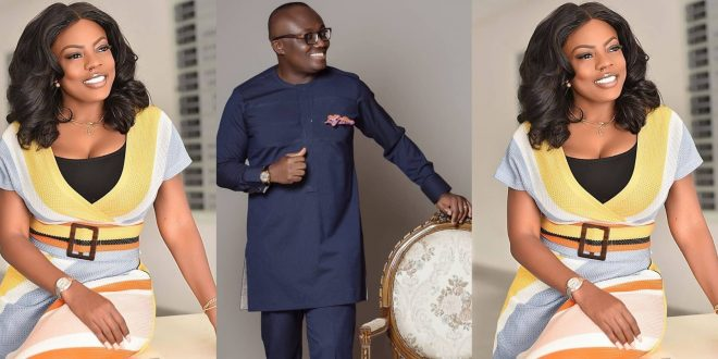 Nana Aba Anamoah in trouble as her boss Bola Ray fires her on Phone. 1