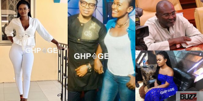 Photos of Perpetual; the lady Kennedy Agyapong claims was chopped by Obinim (photos) 1
