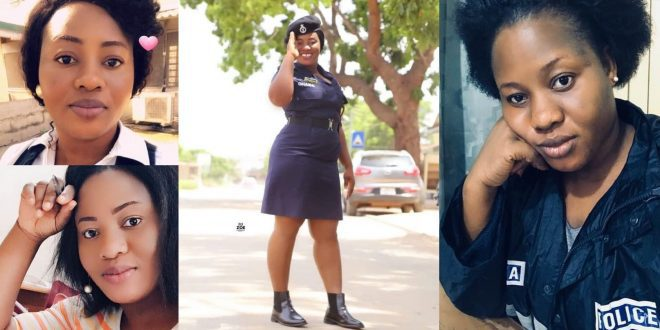 Photos of Francisca Tengey, the pretty Ghanaian Policewoman shot by a soldier in Tema (photos) 1