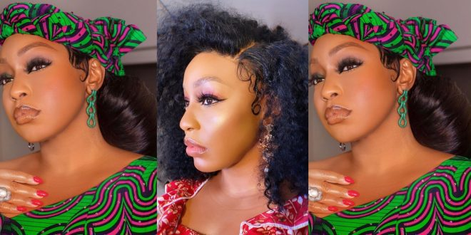 Ini Edo steps out heavily decorated after the lift of lockdown 1