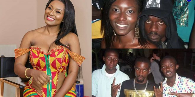 Throwback Photos Of Sarkodie and Wife, Tracy All Loved Up Causes Stir - Check Out 1