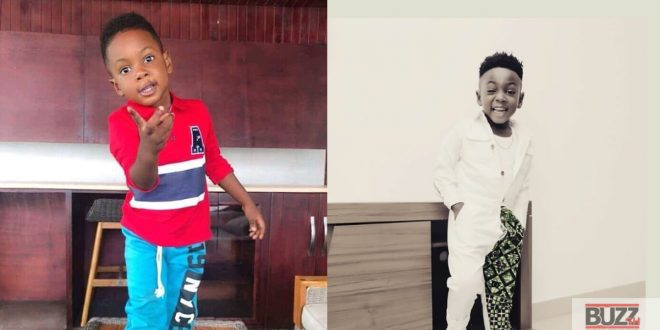 Shatta wale's son Majesty all grown up in new photo. 1