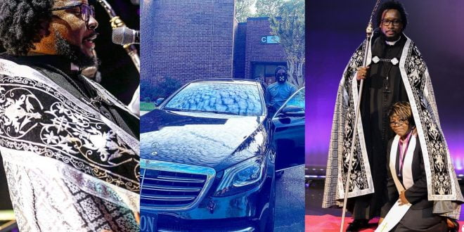 Sonnie Badu Shows Off His Customized Classy Mercedes Benz In New Photo 1