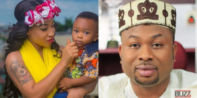 """Your Son Will One Day Wake Up And Hear About Your Death"" - Tonto Dikeh Threatens Her Ex-Husband (Video) 1"