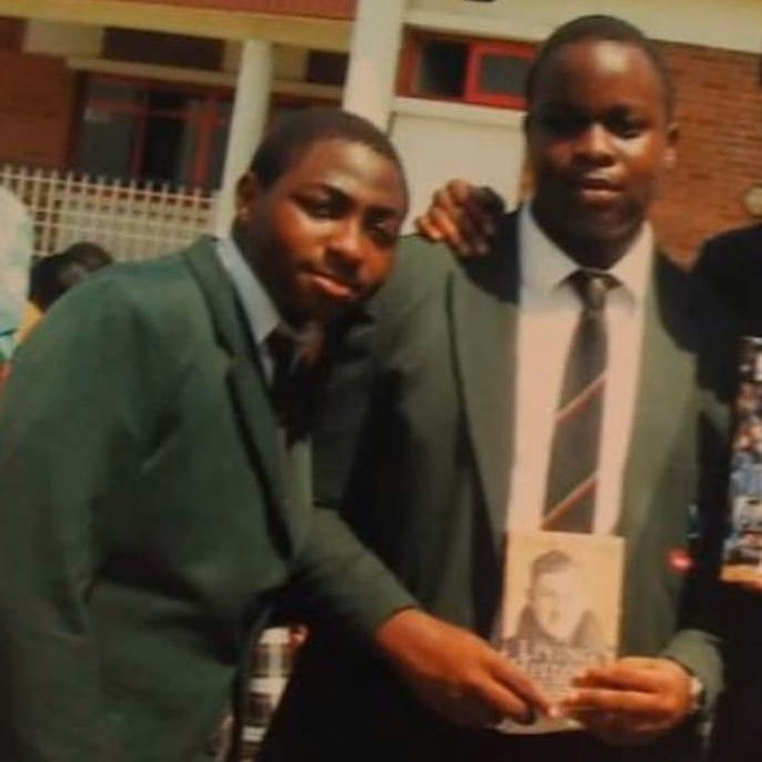 Throwback picture of Davido in high school causes stir online. (photo) 2
