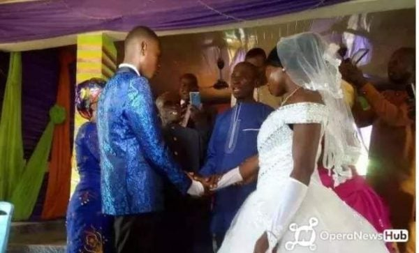 15 years old boy weds 22 years old lady (photos) 4
