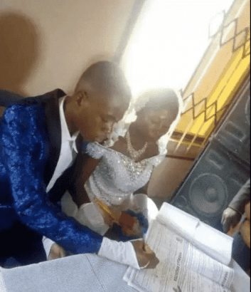 15 years old boy weds 22 years old lady (photos) 2