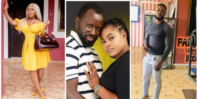 Afia Schwarzenegger shows off Joyce Blessing's Gym Instructor she claims snagged her from Dave Joy - video 1